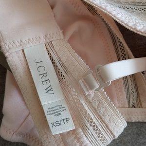 J. Crew Intimates & Sleepwear - NWT J.Crew light pink lace bralette